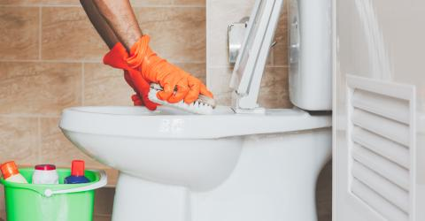 Here's how to easily clean your toilet