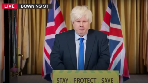 Fans are saying Matt Lucas' Boris Johnson impression was the best GBBO opening of all time