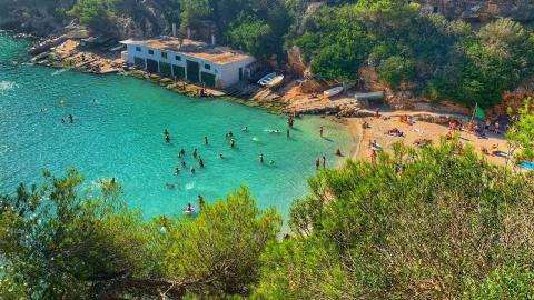 This year's Love Islanders have landed in Majorca