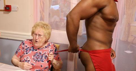A Retirement Home Hired Naked Waiters And The Pensioners Loved It
