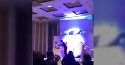 Footage Of His Bride Cheating Revealed Just Before He Said 'Yes'