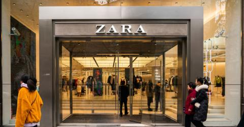 This Dress From Zara Is Perfect For Switching Seasons And It's Only £9,99