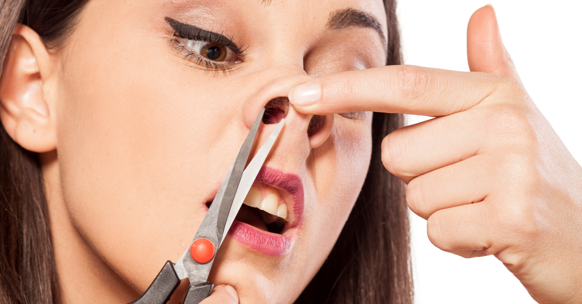 Doctors Warn That Removing Nose Hair Like This Could Be Fatal